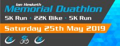 Ian Hesketh Memorial Duathlon 2019 - Saturday May 25th